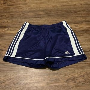 Adidas shorts. Blue. Size Medium